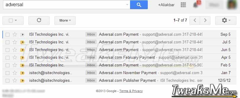 Adversal Payments via Paypal