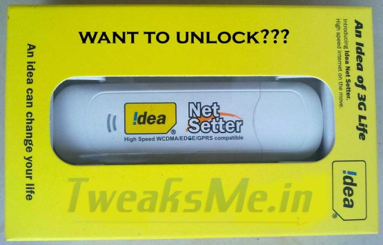 How to Unlock Idea Netsetter E303D – New Method