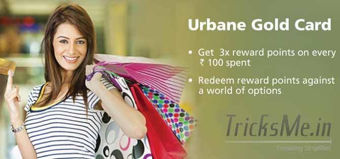 Kotak Urbane Gold Credit Card