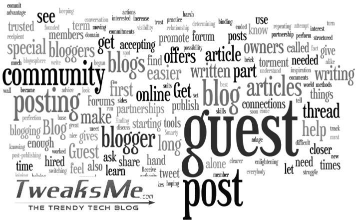 Guest Blogging at tweaksMe