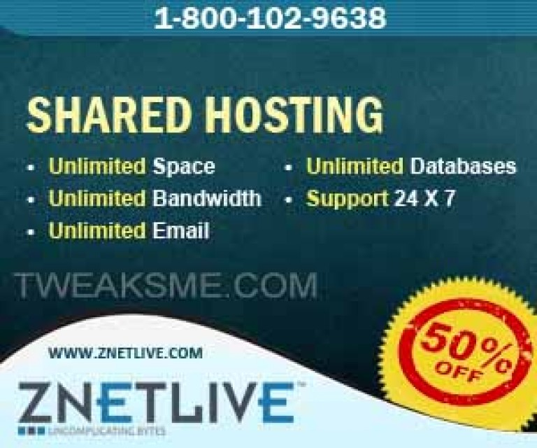 Znetlive 50% OFF Web Hosting Coupon [July 2019]