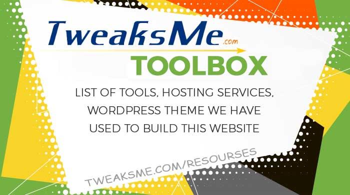 Tweaksme Toolbox