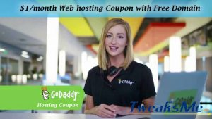 Godaddy Hosting Coupon code June 2019 – $1 per month