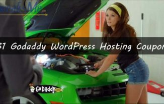 86% OFF Godaddy WordPress hosting coupon March 2020