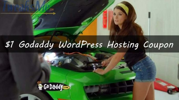 86% OFF Godaddy WordPress hosting coupon July 2019