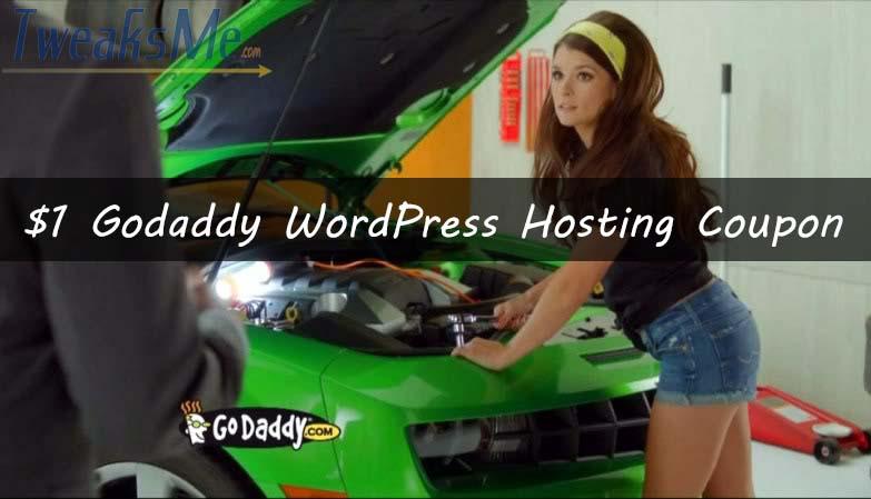 Godaddy Managed WordPress hosting coupon - 2016