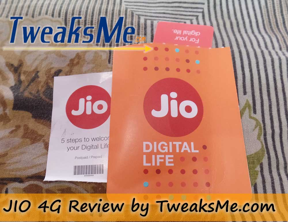 JIO 4G Review