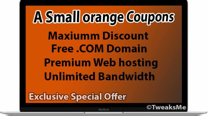 A Small Orange Coupon codes – Maximum Discount + Free Domain