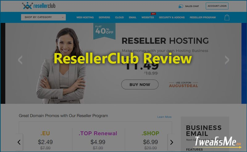 ResellerClub-Review