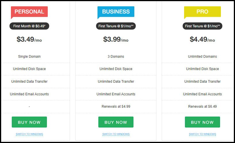Resellerclub-Shared-Hosting-plans